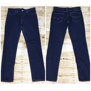 Levi's | 511 Dark Wash Slim Fit Jeans | size 34